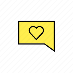 answer, chat, conversation, love, message, talk icon
