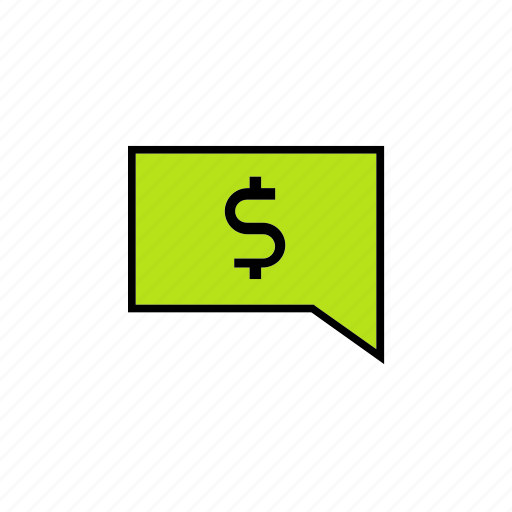 answer, chat, conversation, message, money, talk icon