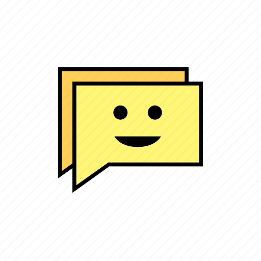 chat, conversation, message, messages, smile, talk icon