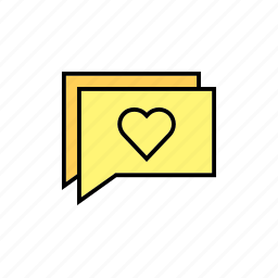 chat, conversation, love, message, messages, talk icon