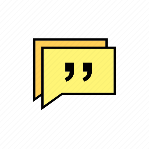 chat, conversation, message, messages, quote, talk icon