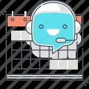 calendar, chat bot, message, program, robot, support, virtual assistant