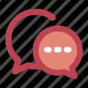 chat, chatting, communication, interaction