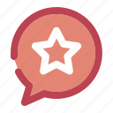 chatting, favorite, favourite, like, star icon
