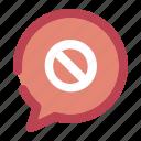 alert, caution, chatting, danger, warning icon