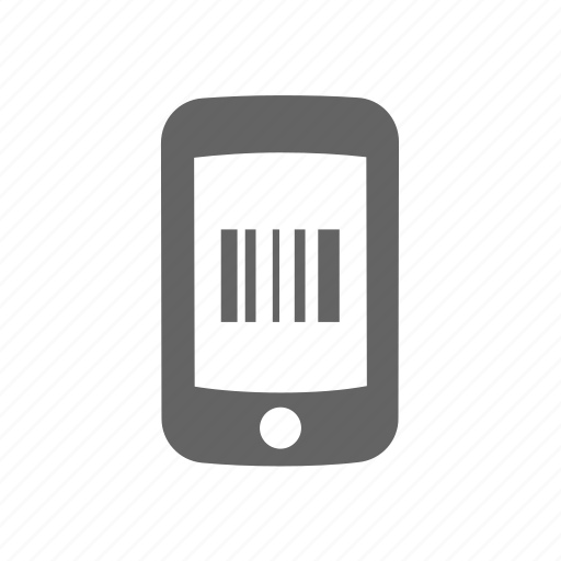 bar, barcode, code, phone, qr, scanner, smartphone icon