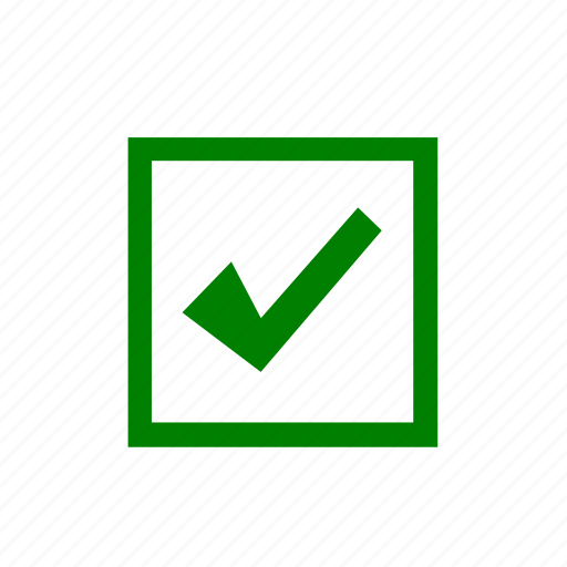 check, mark, no, voting, yes icon