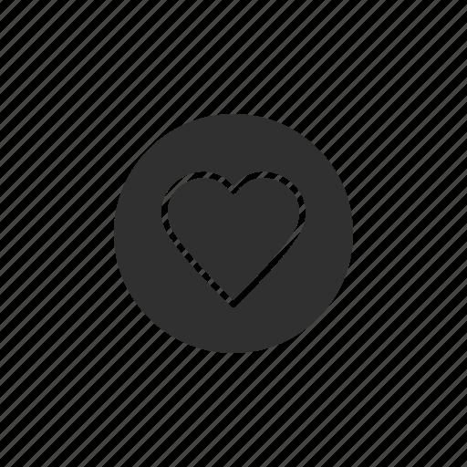 favorite, heart, heart button, love icon