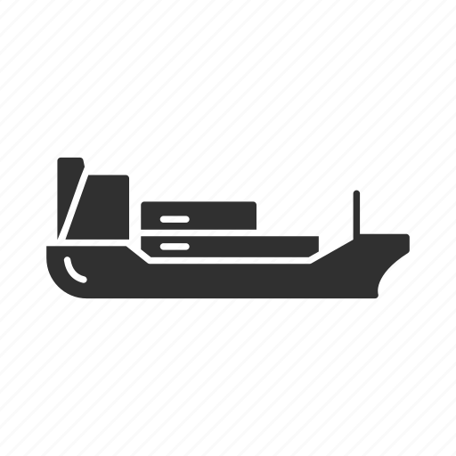 boat, delivery, ship, shipping icon