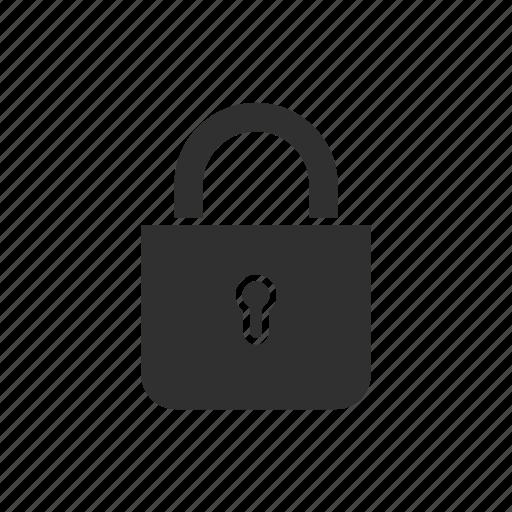 lock, padlock, private, secure icon