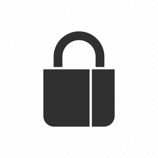 lock, private, secure, security icon