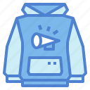 clothing, fashion, hoodie, sweatshirt icon