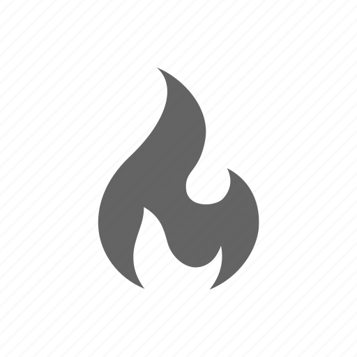 fire, flame, flare, light icon