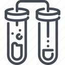 chemistry, flask, lab, science, test, tube icon