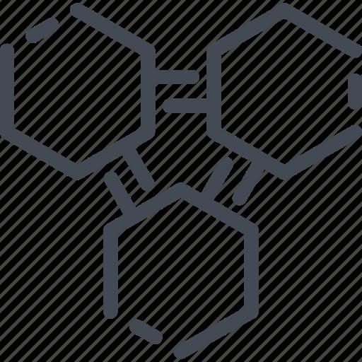 atom, chemistry, formula, molecule, science, structure icon