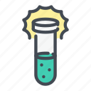 acid, chemistry, experiment, explosion, flask, lab, laboratory icon
