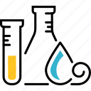 tube, laboratory, test, research, flask