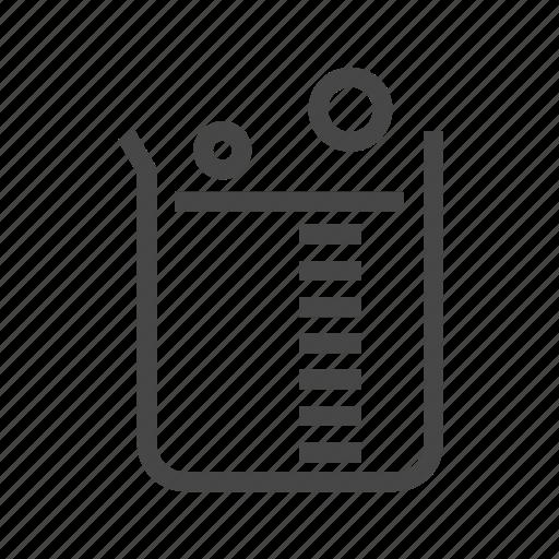beaker, chemistry, flask icon