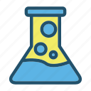 biology, chemistry, experiment, laboratory, research, science, tube icon
