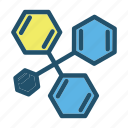 biology, chemistry, experiment, formula, laboratory, research, science icon
