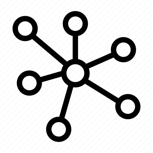 atom, biology, chemistry, experiment, laboratory, research, science icon