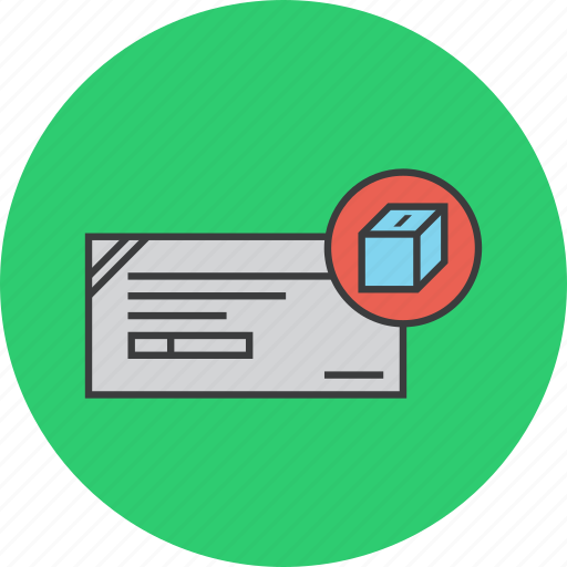 banking, box, cheque, collection, deposit, financial, instrument icon