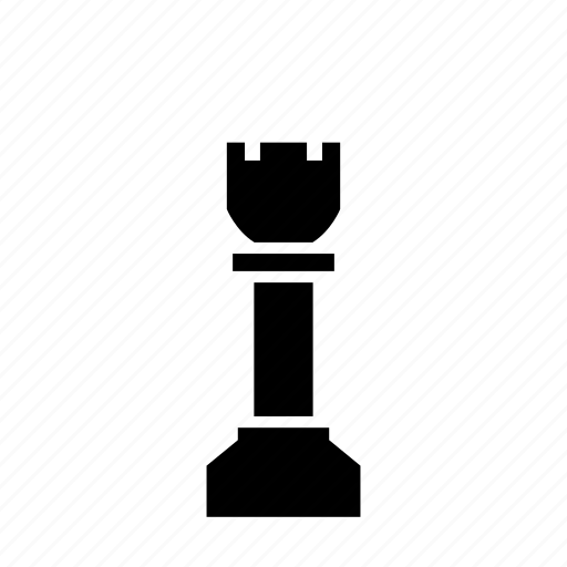 boardgame, chess, game, piece, play, rook, strategy icon