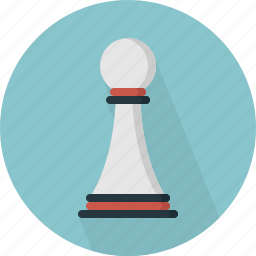 chess, game, pawn icon