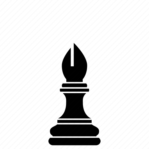 bishop, blessed, chess, game, holy, piece, priest, strategy icon