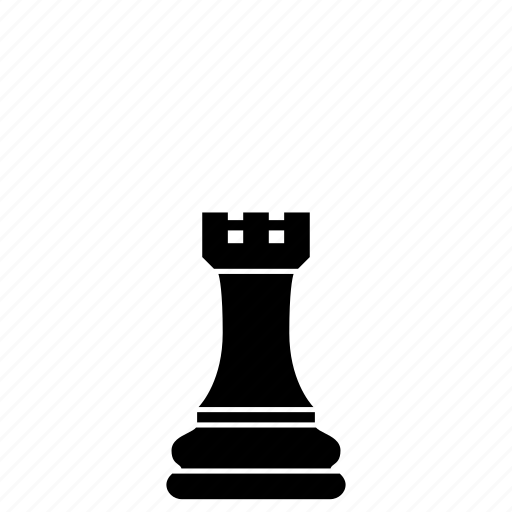 chess, defense, game, rook, strategy, tower, watchtower icon