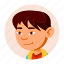 asian, boy, child, china, face, japan, people icon