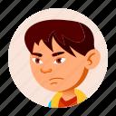 boy, child, china, emotion, face, japan, people icon