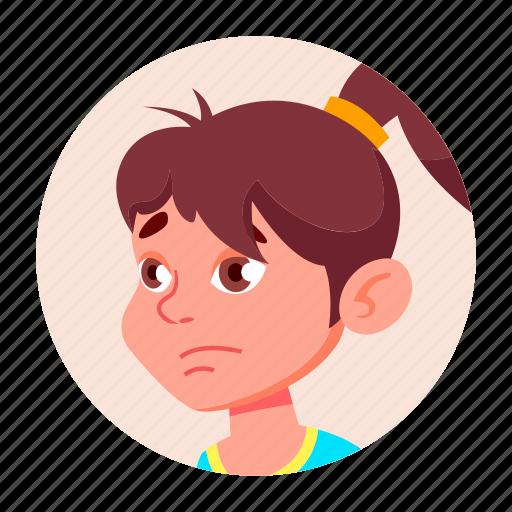 avatar, boy, child, emotion, expression, face, people icon