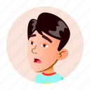 boy, child, china, emotion, face, japan, people icon
