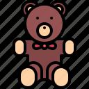bear, child, childhood, kid, teddy, toy icon