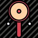 child, childhood, drum, kid, rattle, toy icon