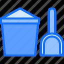 bucket, child, childhood, kid, sand, scoop, toy