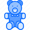 bear, child, childhood, kid, teddy, toy icon