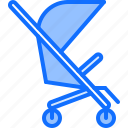 baby, child, childhood, kid, stroller, toy icon