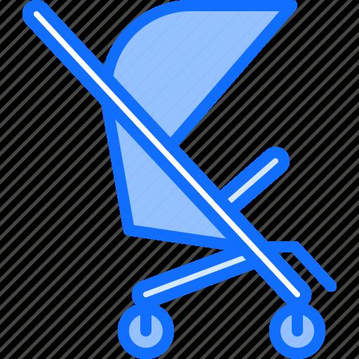 baby, child, childhood, kid, stroller, toy icon