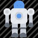 child, childhood, kid, robot, toy icon