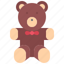 bear, child, childhood, kid, teddy, toy