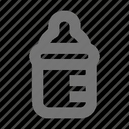 baby, bottle, drink, eat, food, milk icon