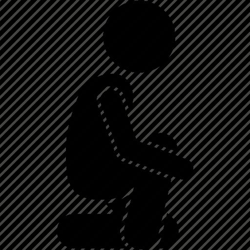 child, kid, ready icon