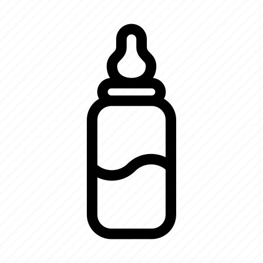 baby, baby bottle, bottle, drink, food, infant, newborn icon
