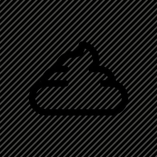 poo, pooh, poop, shit, trash icon