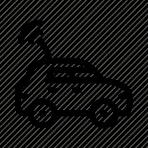 auto, car, childhood, radio, remote control, toy, transport icon