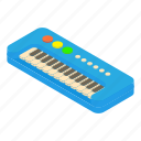 toy, instrument, color, synthesizer, design, piano, cartoon