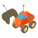 antenna, car, cartoon, control, design, radio, toy icon