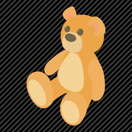 animal, art, bear, cartoon, childhood, teddy, toy icon